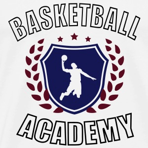 Sweat Basketball Academy France - T-shirt Premium Homme