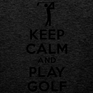 keep calm and play golf Sweat-shirts - Débardeur Premium Homme