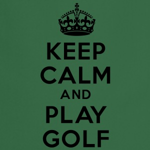 Keep calm and golf Sweat-shirts - Tablier de cuisine