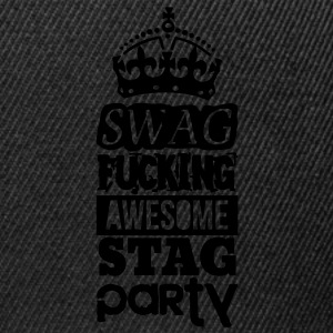 SWAG AWESOME STAG PARTY Polo Shirts - Snapback Cap