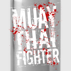 Muay Thai fighter blanc Sweat-shirts - Gourde