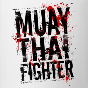 Muay Thai fighter Tee shirts Boxe thailandaise - Tasse