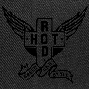 Hot Rod - speed and style T-shirts - Snapbackkeps