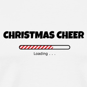 Christmas Cheer Loading Bottles & Mugs - Men's Premium T-Shirt