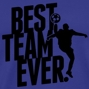 Best team ever - soccer Gensere - Premium T-skjorte for menn