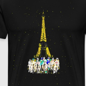 Tour de France Sweaters - Mannen Premium T-shirt