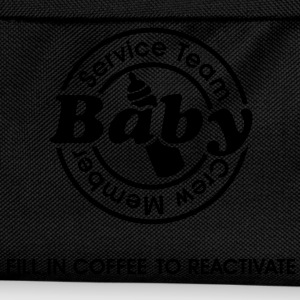 Service Team Baby. Fill in Coffee to reactivate.  Sudadera - Mochila infantil