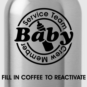 Service Team Baby. Fill in Coffee to reactivate.  Sweatshirts - Drikkeflaske