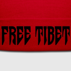 Free Tibet. International Independence Movement Sweat-shirts - Bonnet d'hiver