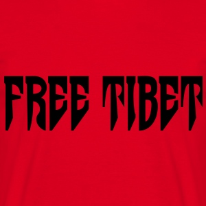 Free Tibet. International Independence Movement Sweat-shirts - T-shirt Homme