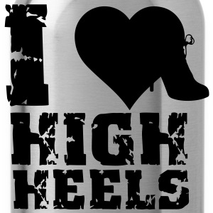 I Love Highheels T-Shirts - Trinkflasche