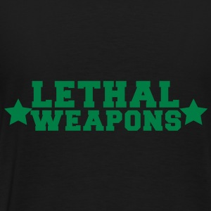 lethal weapons with star  Bags  - Men's Premium T-Shirt