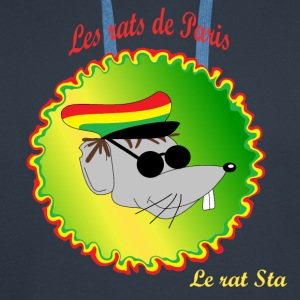 The rats of Paris - The rasta T-shirts - Premiumluvtröja herr