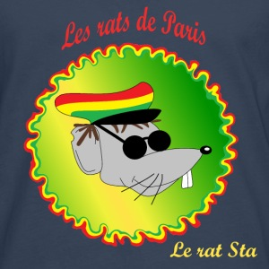 The rats of Paris - The rasta T-skjorter - Premium langermet T-skjorte for menn
