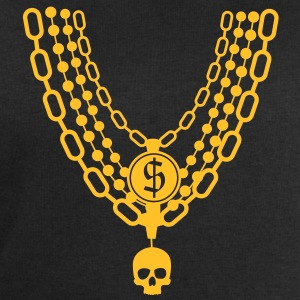 gold chain necklace T-Shirts - Men's Sweatshirt by Stanley & Stella