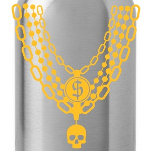 gold chain necklace T-Shirts - Water Bottle