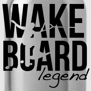 wakeboard  T-Shirts - Water Bottle