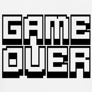 game over Bottles & Mugs - Men's Premium T-Shirt