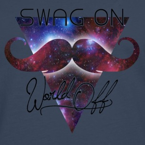 world off swag on Tassen - Mannen Premium shirt met lange mouwen