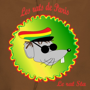 The rats of Paris - The rasta T-shirts - Dame Premium hættetrøje