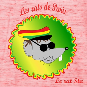 The rats of Paris - The rasta T-shirts - Dame tanktop fra Bella