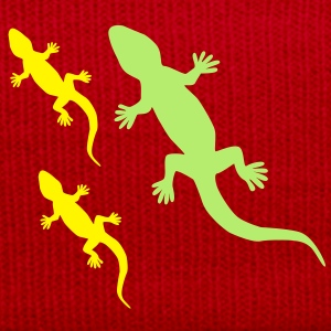 Gecko with Babies T-Shirts - Winter Hat