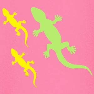 Gecko with Babies T-Shirts - Baby Long Sleeve T-Shirt