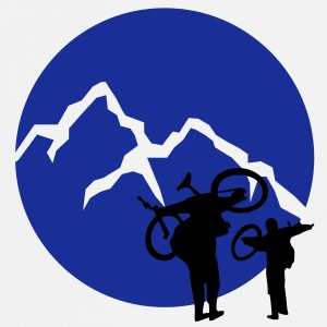 Big Mountain Biker | Kreis (Flockdruck) - Kochschürze