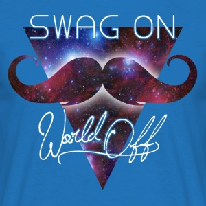 world off swag on Sweat-shirts - T-shirt Homme