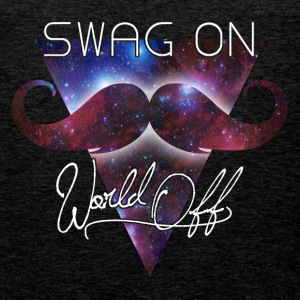 world off swag on T-shirts - Premiumtanktopp herr