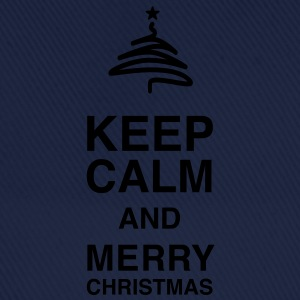 Keep Calm and merry Christmas Tee shirts - Casquette classique