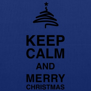 Keep Calm and merry Christmas Tee shirts - Tote Bag
