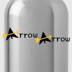 arrow arrow patjila T-shirts - Drinkfles