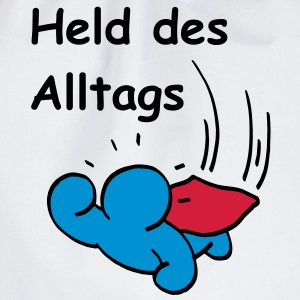 Held des Alltags T-Shirts - Turnbeutel