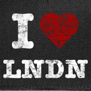 I Love LoNDoN vintage light Sweaters - Snapback cap