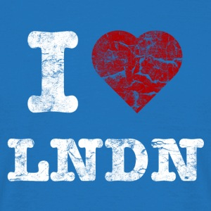 I Love LoNDoN vintage light Sacs - T-shirt Homme