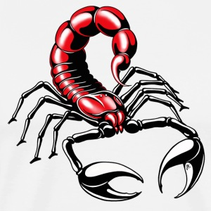 Scorpion - red - Men's Premium T-Shirt