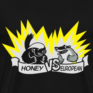Badger vs Badger Bags  - Men's Premium T-Shirt