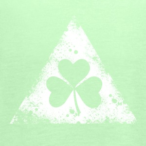 like a irish st. patricks day hipster triangle Tee shirts - Débardeur Femme marque Bella