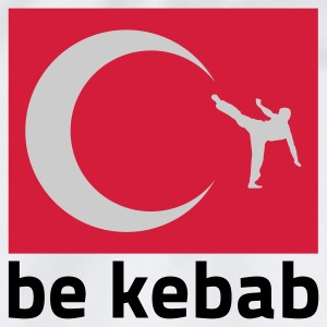 Weiß be Kabab © T-Shirts - Turnbeutel