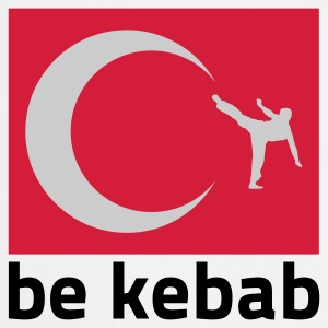 Weiß be Kabab © T-Shirts - Tablier de cuisine