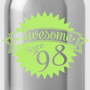 awesome since 98 T-Shirts - Trinkflasche