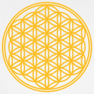 Vector - Flower of Life - 01, 1c, sacred geometry, energy, symbol, powerful, healing, protection, cl T-Shirts - Baseball Cap