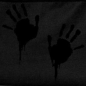 bloody handprints T-Shirts - Kids' Backpack