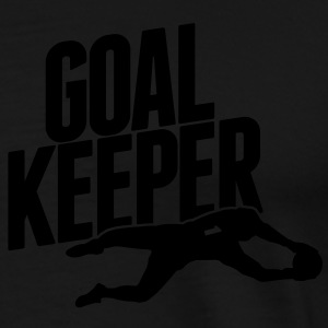 goalkeeper Hoodies - Men's Premium T-Shirt