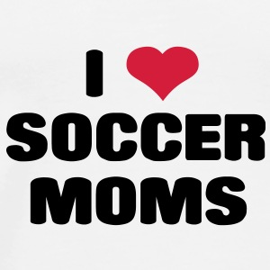 i love soccer moms Bottles & Mugs - Men's Premium T-Shirt