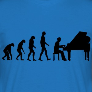 piano evolution Sweaters - Mannen T-shirt