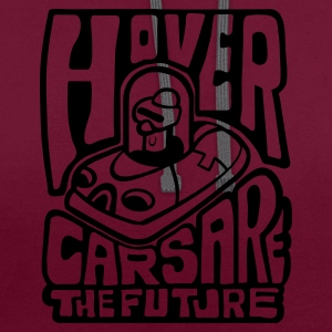 Jeans blue Hovercars Are the Future! Bags  - Contrast Colour Hoodie