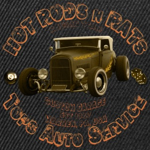 hot rods rats custom garage racing - Snapback Cap