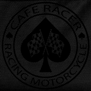 Café racer racing motorcycle as de pique - Sac à dos Enfant